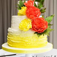 """The wedding cake """"Claire"""""""