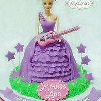 Popstar Keira Barbie Cake