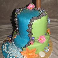 Tropical Birthday  by Tiffany Palmer