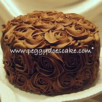 More Chocolate Roses Cake