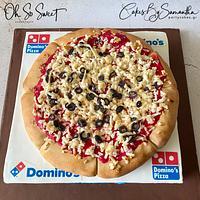 Pizza & Box Cake