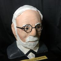 Sigmund Freud cake Design