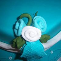 Blue cake by Take a Bite