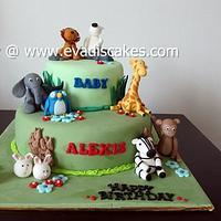 Animals Theme Cakes..