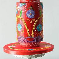 Cakerbuddies-Royal Wedding inspired,Buttercream special  -Flora Bordado  by Monika Srivastava