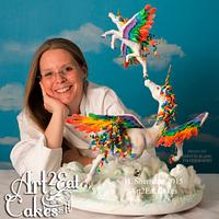 Heather -Art2Eat Cakes- Sherman