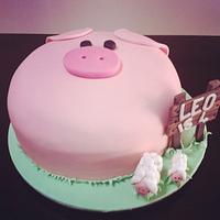 little Mr Piggy Cake