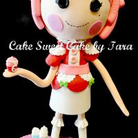 lala loopsy sculpted cake