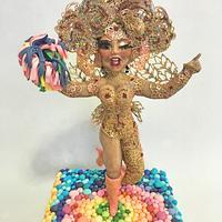 Bailarina de Carnaval