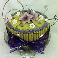 Lilac Lilies by Alli Dockree