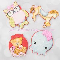 Delightful Animal Cookies