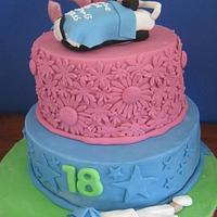 Combined Birthday cake