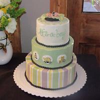 Stroller Fun cake