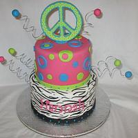 Peace & Zebra & Circles by DoobieAlexander