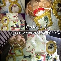 Picture and Frames Anniversary Cake
