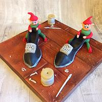 The Elves and the shoemaker Grimms fairytale collaboration