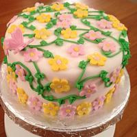 Anniversary Cake! by Cakesatibapa