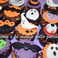 Halloween minicupcakes