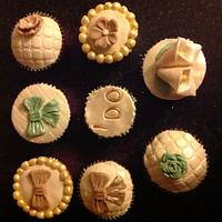 Bridal Party Cupcakes  by Lisa sweeney