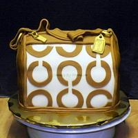 Caramel Coach Purse
