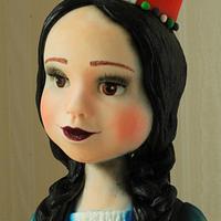 Peruvian doll cake