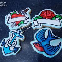 Tattoo Cookies
