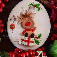Christmas Rudolph reindeer