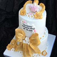 Cristening cake