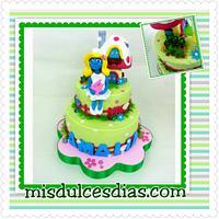 smurft cake