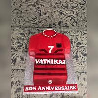 Albanian soccer cake