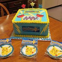 Boy's Pokemon Birthday Cake