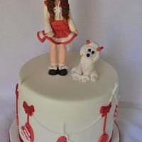 Here is my Annie cake
