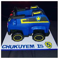 Chase Truck Cake