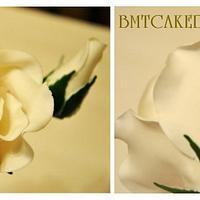 Ruffles Wedding Cake by Bobie MT