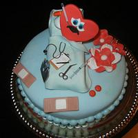"""Mend a Heart"" cake"