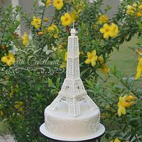 Royal Icing Eiffel Tower