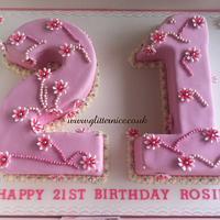 21st Birthday Cakes by Alli Dockree
