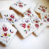Bulgarian embroidery cookie set
