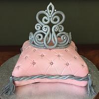 Princess crown-pillow