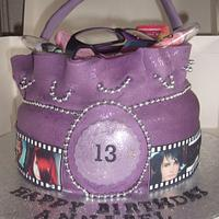 Purple Dolly Bag