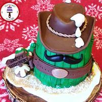 Christmas Cowboy Cactus