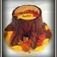 Fall Themed Cake