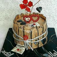 Love Birthday cake