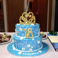 Cinderella Inspired 18th Birthday