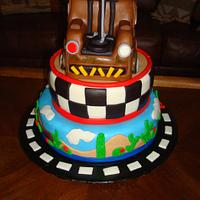 Mater Tow Truck Cake by naughtyandnicecakes