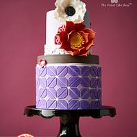TILING - MODERN GEOMETRIC Cake