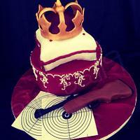 Torte für Schützenkönigin