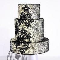 Lace by Queen of Hearts Couture Cakes