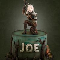 Witcher 3 Cake