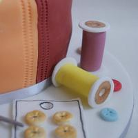 Sewing Cake by rosiescakes
